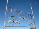 Slab city sign