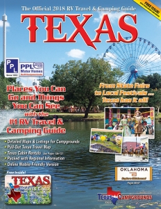 Texas Camping 2018 Guide Cover