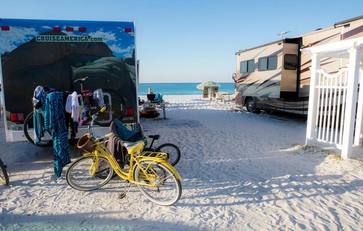 Camp Gulf Beach